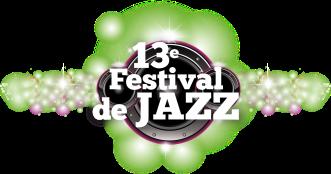 13E FESTIVAL DE JAZZ LOGO